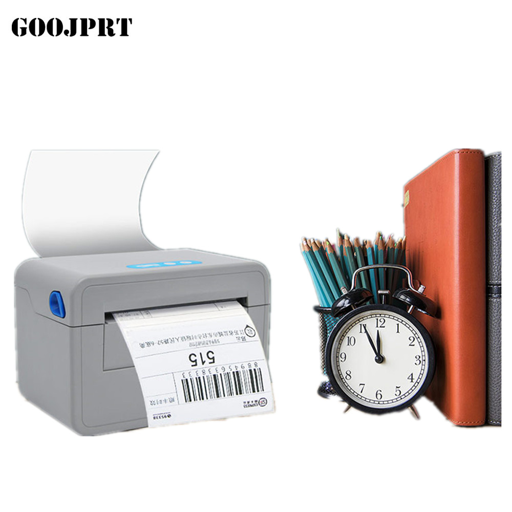2018 new arrived usb port thermal shipping address printer POS printer thermal label printer suppot paper width between 40-120mm techlogic 57x40 thermal paper supermarket pos machine paper 57 40 cashier register paper 5740 restaurant small ticket paper