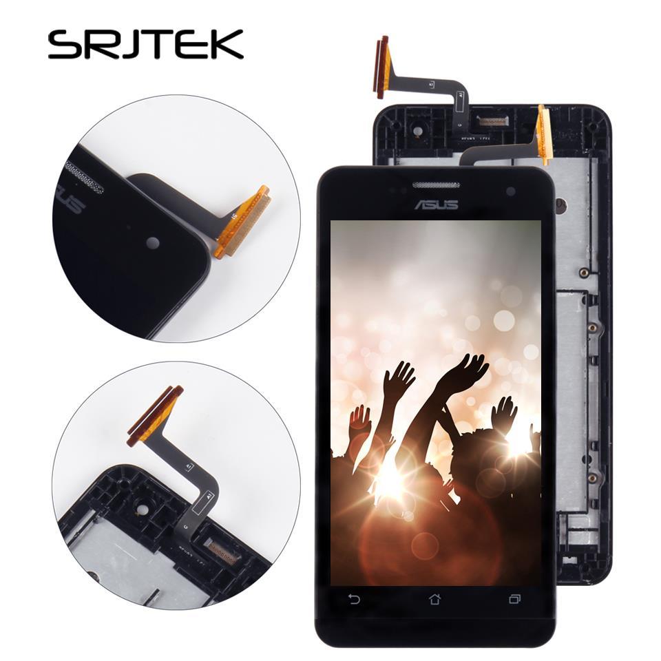 Srjtek Screen For ASUS Zenfone 5 A500CG A501CG T00j T00f LCD Display Touch Digitizer Sensor Glass