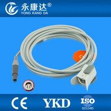 Frete Grátis para M69, M66 Pediátrica Clipe de Dedo SpO2 Sensor Utilizado Para Biolight BLT, 3 M, 5 P