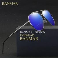BANMAR 2017 New Fashion Brand Designer Female Vintage Pilot Mirror Sunglasses Women Cat Eye Sun Glasses For Men UV400 BM6017