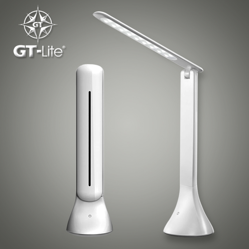 GT-Lite LED Desk Lamp Dimmable Touch Book Light  USB Charging Reading Light Chargeable Table Lamp Portable Folding Lamp GTTL04 brighting led table reading lamp office light adjustable lamp usb rechargeable touch sensor led desk light table lamp for home