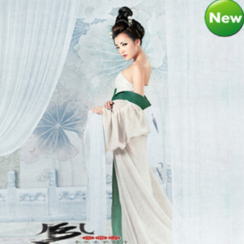 Luxury Women's Sexy Cosplay dance clothes fairy princess tang suit hanfu queen Chinese ancient clothing le chinois ancien