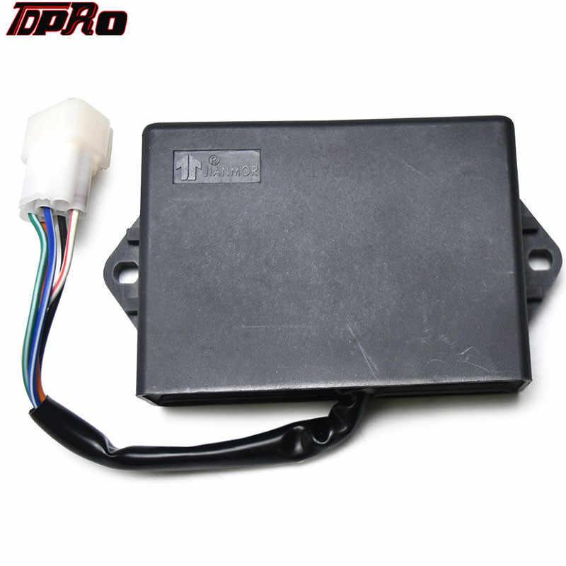 TDPRO JS400 Motorcycle ATV CDI Box Easy to install Moto Ignition Accessory  For Roketa Rhino HS400 400cc Go Kart Buggy Pit Bike