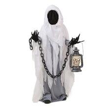 מדהים ילד ספוקי Ghost Scarist ליל כל הקדושים תלבושות