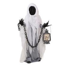 Impressionante Bambino Spooky Fantasma Scarist Costume di Halloween