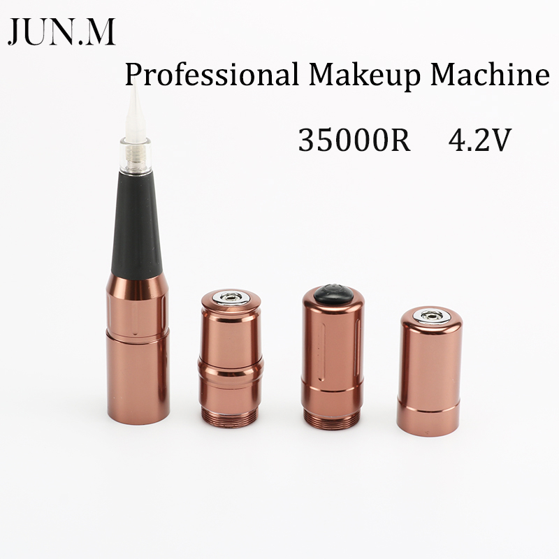 Free Shipping 35000R Import Motor Rotary Tattoo machine Permanent Makeup Machine Pen tattoo machine pmu machine for learner use permanent makeup rotary pen free shipping