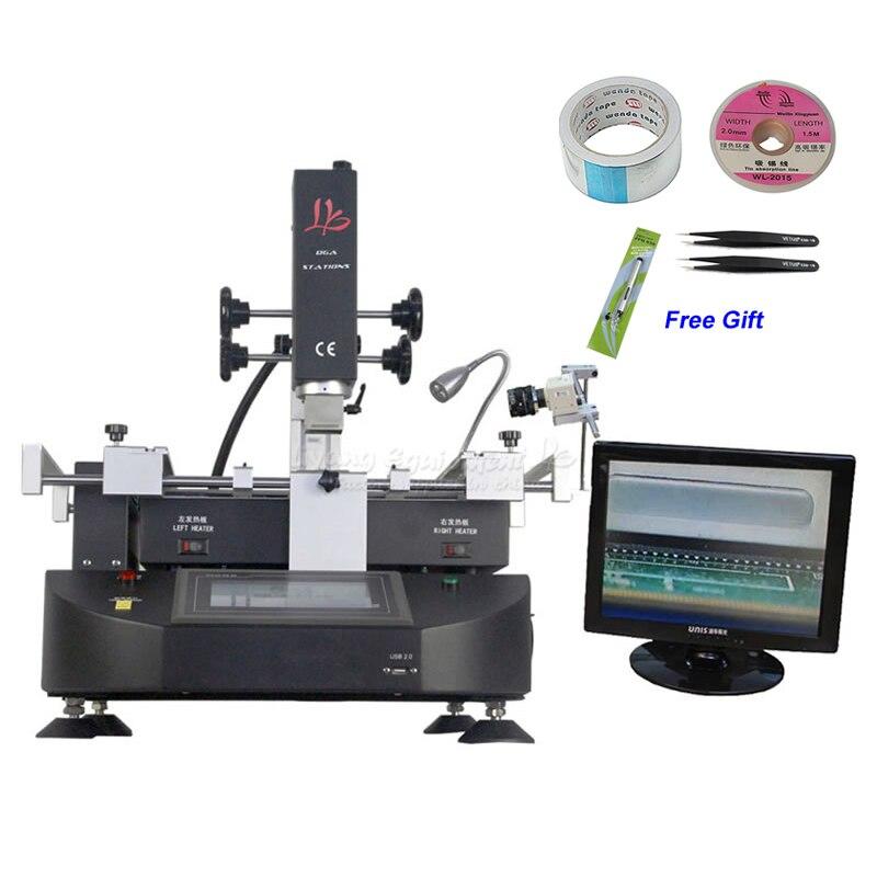 LY R5830C 4500 W BGA Reballing Station Hot Air SMD Máquina De Solda para Laptop Motherboard Chip de Retrabalho Reparação
