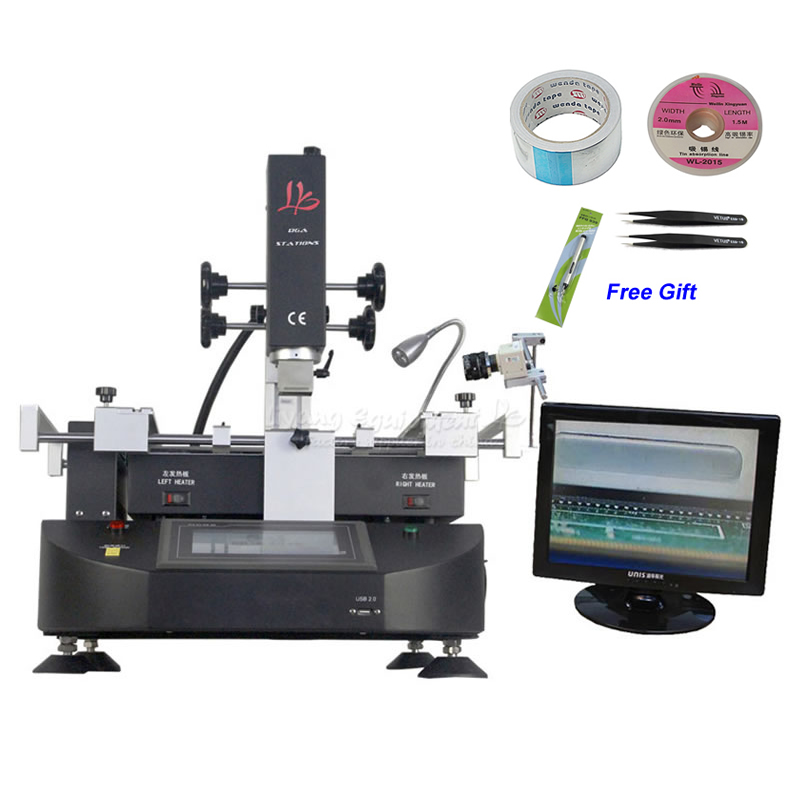 LY R5830C 4500W BGA Reballing Station Hot Air SMD Soldering Machine for Laptop Motherboard Chip Rework Repair