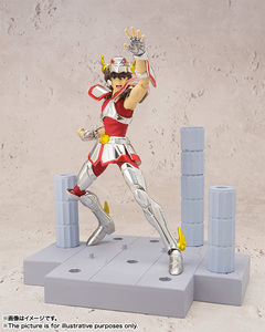 "Image 3 - ""Saint Seiya"" Original BANDAI Tamashii Nations D.D.PANORAMATION / DDP Action Figure    PEGASUS SEIYA   Pegasus Meteor Punches"