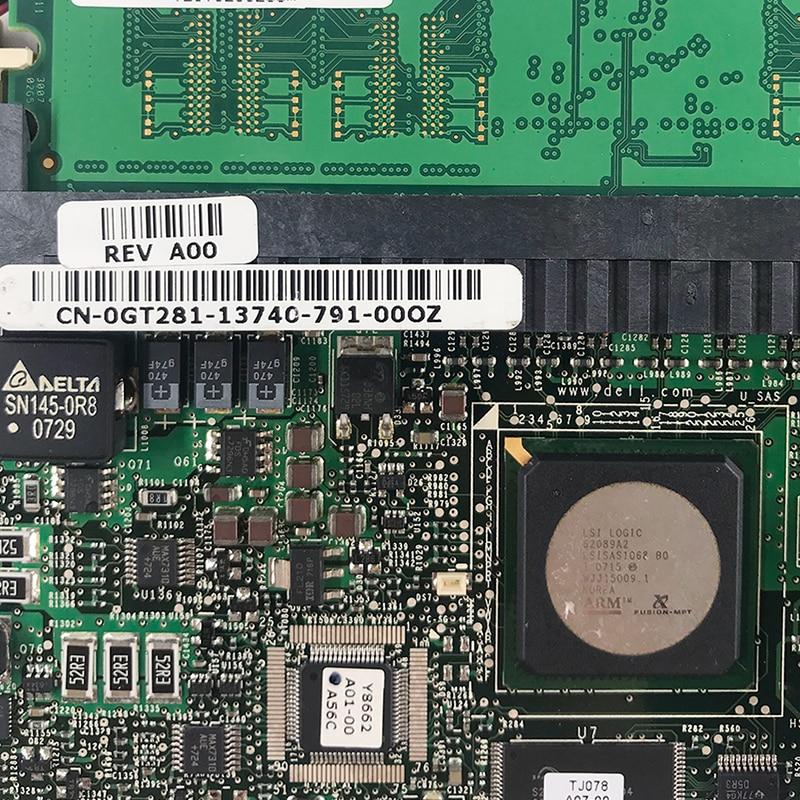 US $19 9 |Dell PowerEdge 2900 1900 Server PERC 5/Aku SAS RAID Controller  Adaptor Kartu PCI E GT281 0GT281 256 M di Add On Cards dari Komputer &  Kantor