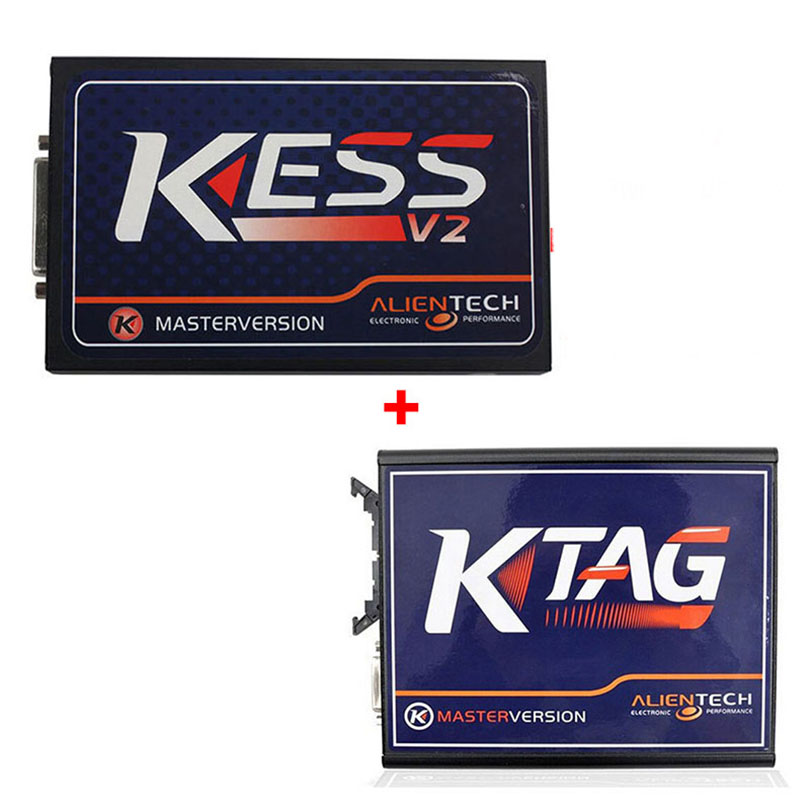 KESS V2 V4.036 OBD2 Manager Tuning Kit Master Version  V2.21 K-TAG KTAG ECU Programming tool V 2.11 V6.070 DHL Free Shipping