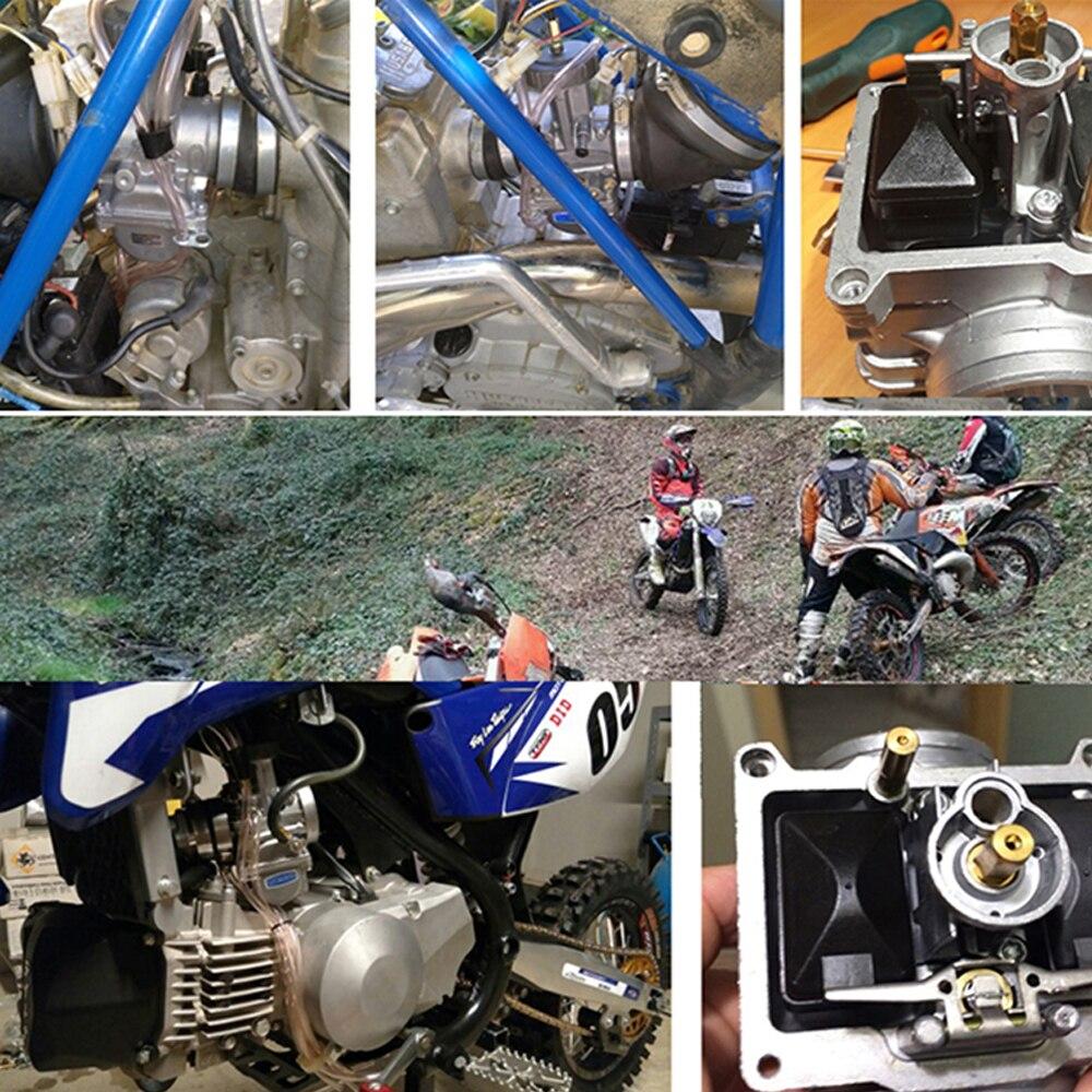 ZSDTRP moto KEIHIN PWK carburateur 33 34 35 36 38 40 42mm pièces de course Scooters vélo de saleté ATV avec Jet de puissance utilisé 250cc - 6