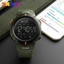 Bluetooth Calorie Pedometer  Watch SKMEI 1301 for Men LED Wa