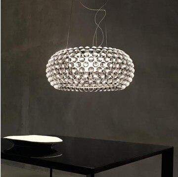 Free Verschiffen Dia 50 Cm Kreative Schweiß Pendelleuchten Moderne Acryl  Pendelleuchte Wohnzimmer Esszimmer Leuchten Pl109