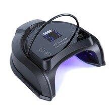 Портативная беспроводная светодиодная Сушилка для ногтей, 64 Вт