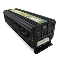 modified sine wave Inverter UPS with AC charger DC24V to AC 220V with LCD display