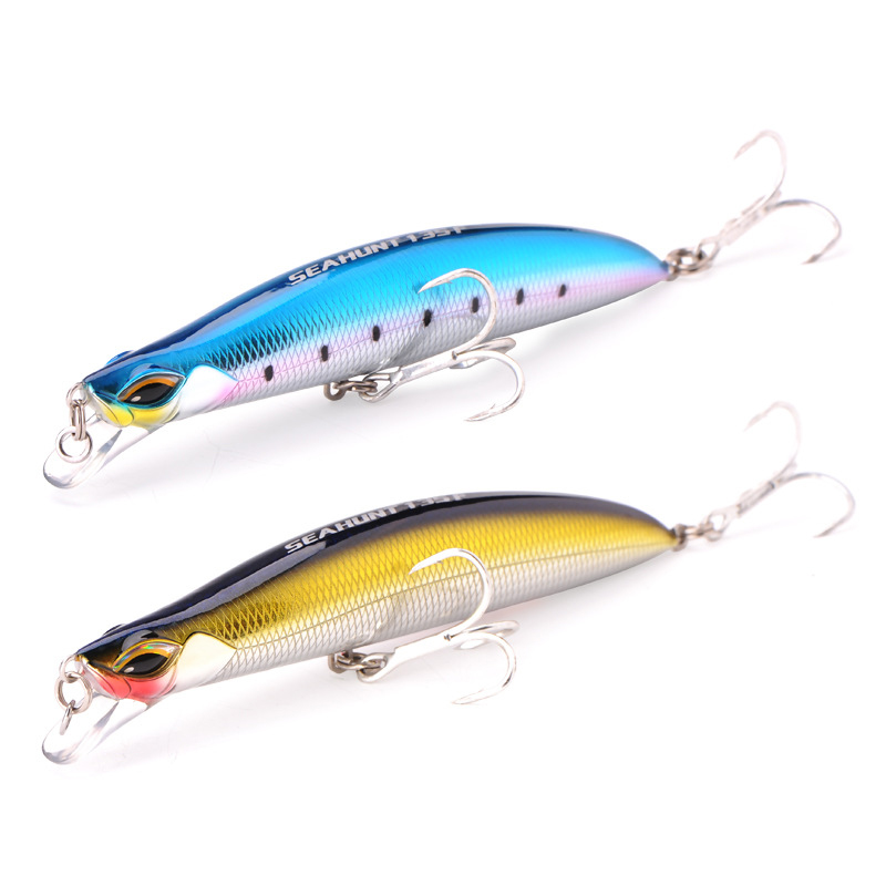 Vissen 1pc Floating Minnow Fishing Lure SFT 135mm/29g Hard Lure Perch Artificial Bait Fishing Wobblers Crankbait Minnows wldslure 1pc 54g minnow sea fishing crankbait bass hard bait tuna lures wobbler trolling lure treble hook