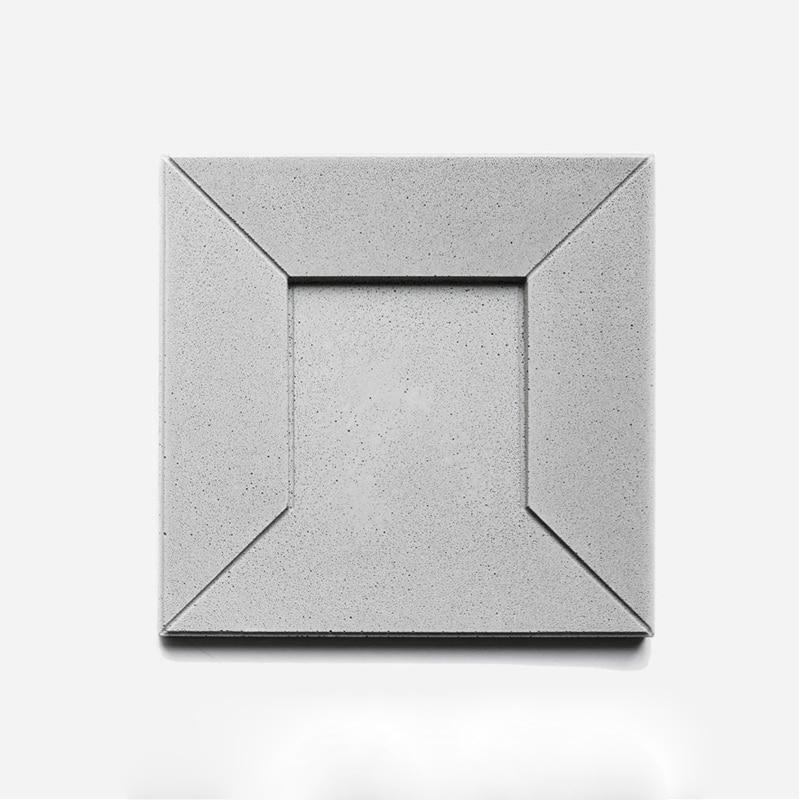 3D cement decorative wall brick mold concave convex decorative brick concrete ypsum free wall tiles silicone mold