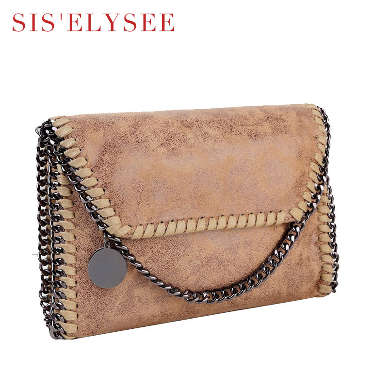 Casual Women Messenger Bags Famous Designer Purses And Handbags 2016 Solid Small Women Flap Chain Bags Lady Crossbody Bag