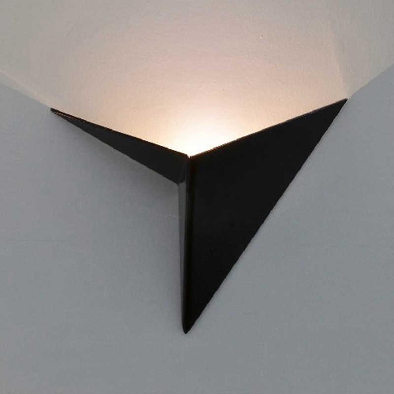 Kreative dreieck wand lampe Ac85-265V 3W moderne foyer hotel restaurant leuchte licht gang hintergrund beleuchtung