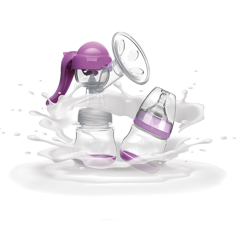 New High Quality Breast Pumps New Arrive  Milk Pumps Baby Nipple Pump Women Feeding Manual Breast Pump BPA FREE With Retail Box