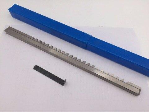 Broach com Calços Ferramentas de Corte para Cnc Push-tipo Keyway Americano Impulso Faca Chaveta Métrico Porte Cnc Router 25mm Hss f