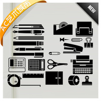 Stationery Shop Vinyl Sticker Office Mural Wall Decal Stationeries Wall Picture Home Decoration Wall Sticker For