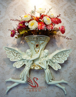 Angel beauty beautiful faery hanging vases, sitting room wall decorations
