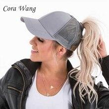 Cora Wang Hot Boble Spirit Snapback Hats Baseball Cap for Men Mesh Hat  Summer Beach Style 01fc99f26d09