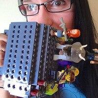 Fashion Creative Five Color DIY Building Blocks Assembled Cups Fun Practical Coffee Mugs Assembled Building Cups
