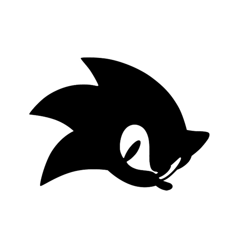 Sonic The Hedgehog Vinyl Decal For Car Truck Window Bumper Bike Cartoon Children Games Decals For Cars Vinyl Decalfor Car Aliexpress