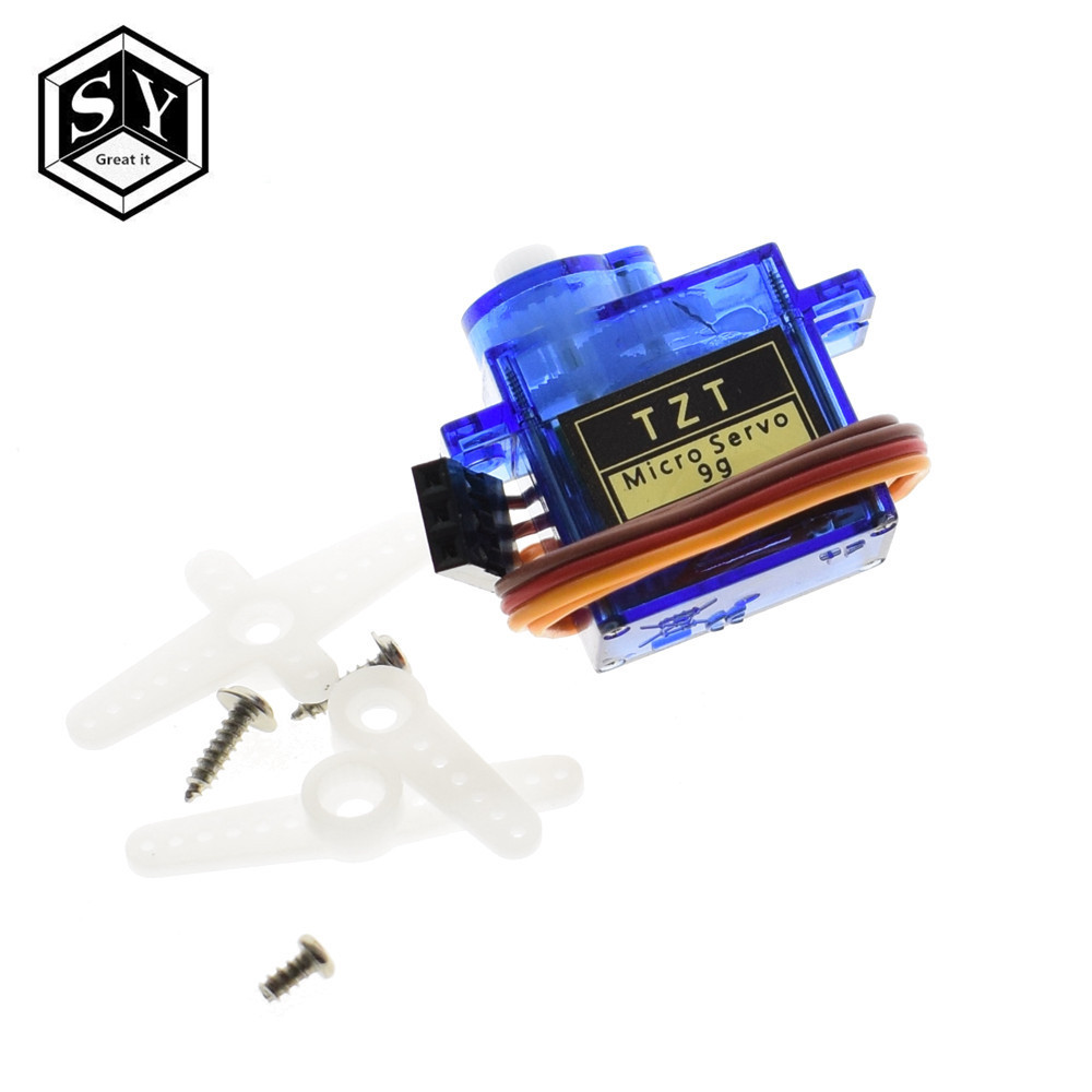 Smart Electronics 1Pcs Rc Mini Micro 9g 1 6KG Servo SG90 for RC 250 450  Helicopter Airplane Car Boat