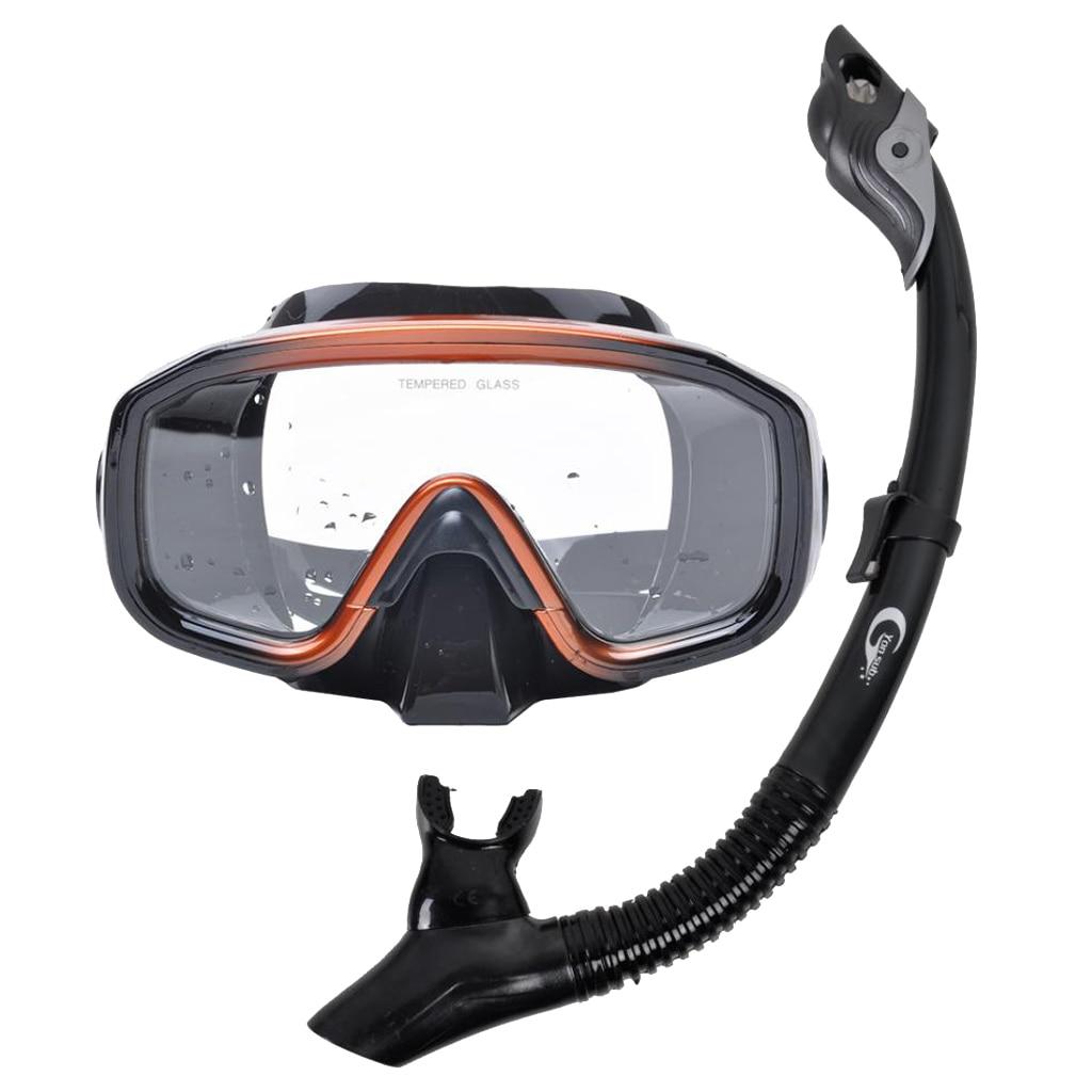 Маска для подводного плавания, очки для подводного плавания, набор дыхательных трубок, очки для ныряния, противотуманные очки