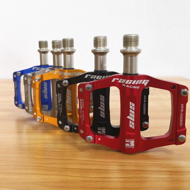 Vélo Pédale En Alliage D'aluminium Pédale De Vélo De Montagne VTT Route Cyclisme Scellée 3 Roulements Pédales pour BMX Ultra-Léger Vélo pièces
