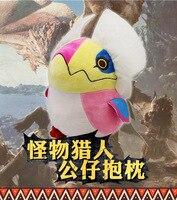 Anime Game MONSTER HUNTER :WORLD Nergigante xeno jiiva Dinotyrannus Cute Plush Figure Doll Soft Stuffed Toy Gifts