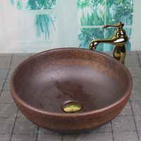 2019 Bathroom Porcelain Ceramic Vessel Sink Basin Wash Basin Lavatory bathroom ceramic