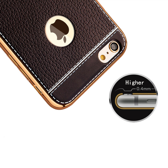 PU Leather Phone Case for iPhone 8