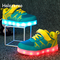 Autumn Spring Children Glowing Sport Sneakers Kid Led Shoes Baby Girl Casual Sneakers Boy Lighted Shoes Toddler Fashion Trainer