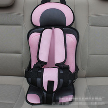 Portable Baby Car Seat for 6 Months to 5 Years Old Baby, Thicken Children Infant Car Chair Safety Cover Kids Chairs In Car