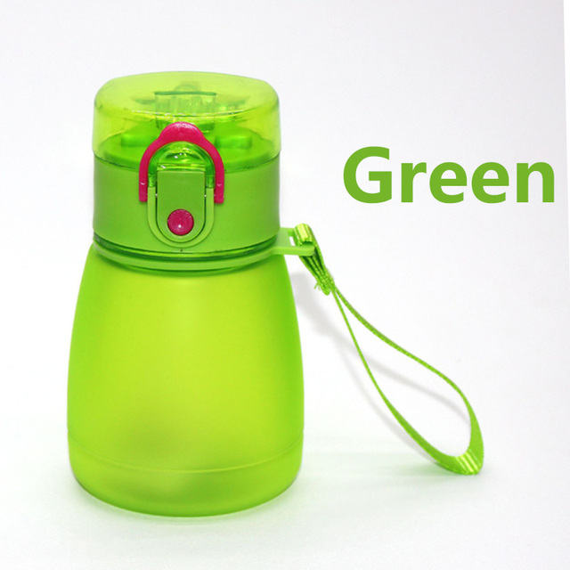 Small Water Bottle with Straw