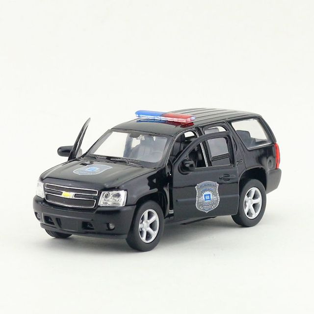Welly 1 36 Scale Car Model Toys Police Version 2008 Chevrolet Tahoe Suv Cast Metal