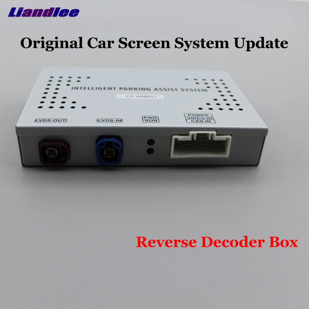 Liandlee Car Original Screen Update System For Audi A5 8T F5 High Rear Reverse Parking Camera Digital Decoder Display Plus in Vehicle Camera from Automobiles Motorcycles