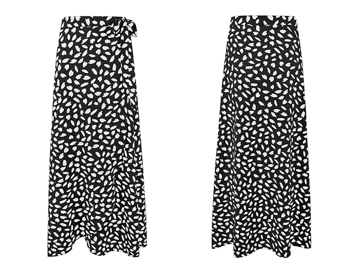 HTB1FsMoRxnaK1RjSZFBq6AW7VXaI - Surmiitro Polka Dot Print Long Maxi Summer Skirt Women Fashion Ladies White Black Split High Waist A-line Sun Skirt Female