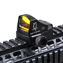 Doctor Sight 3 Mini Red Dot Reflex голографический прицел Авто Яркость лазерный прицел для страйкбола Каза
