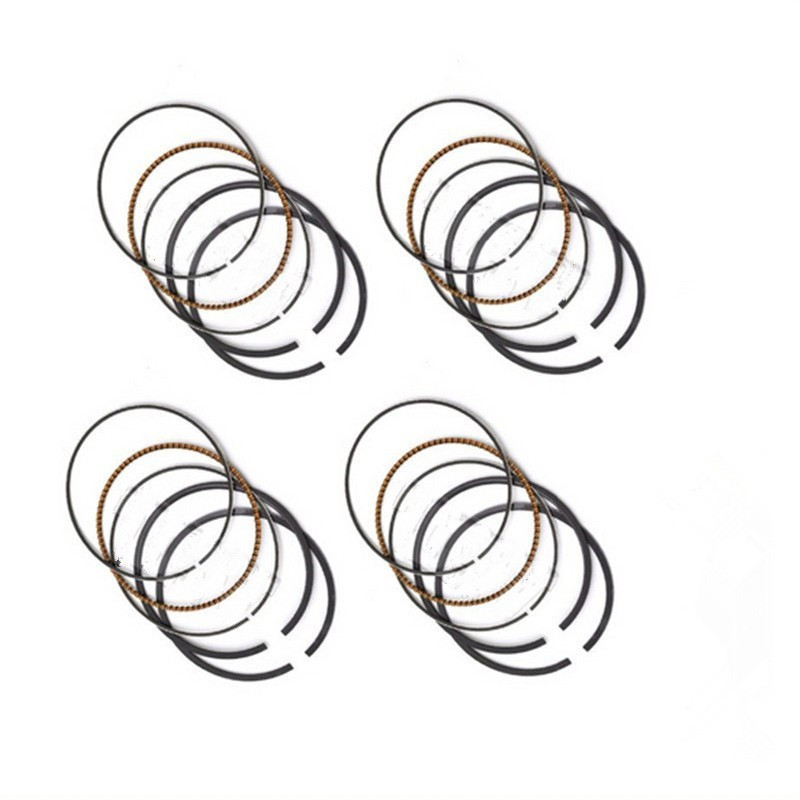 SNXSMO 4 Pcs Motorcycle Engine STD Bore Size Piston Ring
