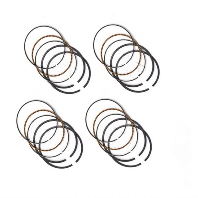Snxsmo 4 Pcs Motorcycle Engine Std Bore Size Piston Ring For Honda