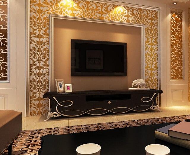 Marvelous DIY Handmade 3D Diamant Glas Mosaik Malerei Neue Stil Küche Backsplash Bad  Dusche Home Hotel Hintergrund