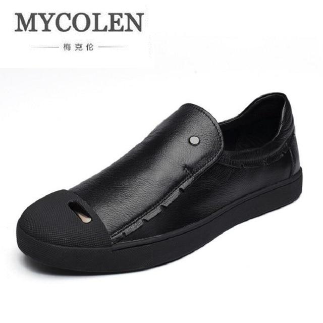 Lujo moda hombres zapatos casuales tendencia masculino, zapatos hombres bajo tablero transpirable de conducción.