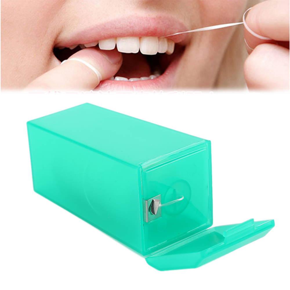 200m Teeth Clean Dental Floss Interdental Brush Teeth Clean Stick Toothpick Floss Teeth Flosser Tooth Cleaning Pick Tool