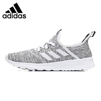 Adidas NEO Cloudfoam Pure Men's Running Shoes, Grey/Light Grey, Breathable Lightweight Shock absorbing Non Slip DB0694 DB0695